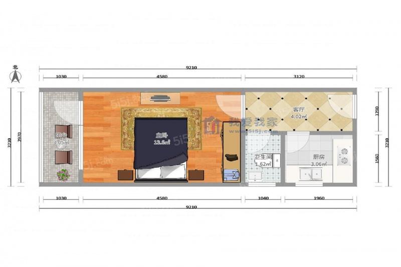 新型瓦房内部设计图