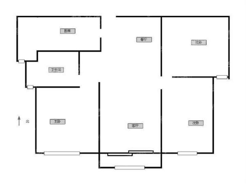 农村130平方房子四房一厅设计图展示