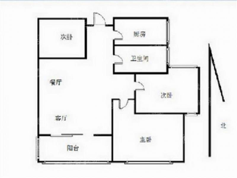 57 单价(万/m) 3室2厅 户型 74 面积(m) 小区:香溢紫郡二期 楼层:中