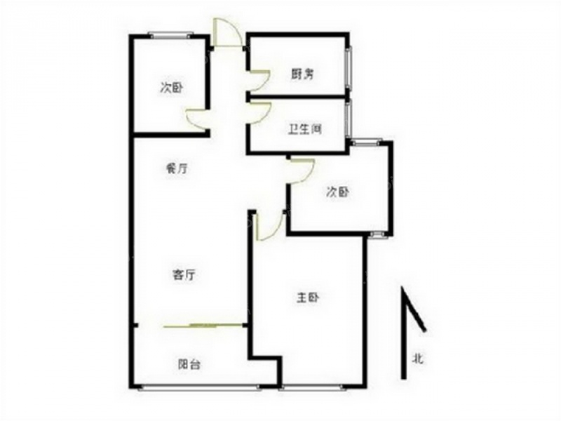 16 单价(万/m) 3室2厅 户型 74 面积(m) 小区:香溢紫郡二期 楼层:高