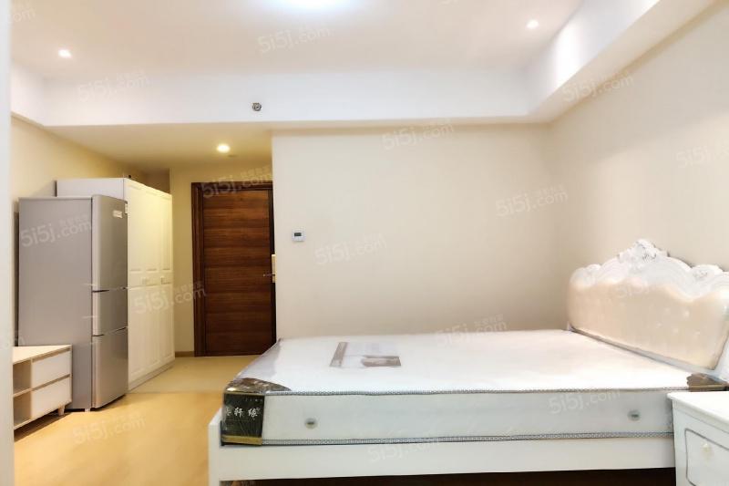 蓝钻天成 精装一居室 可短租 和睦站 大悦城 城西银泰