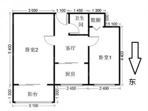 雍和宫小學划片 直升东直门 中间楼层 无遮挡 小区进出方便